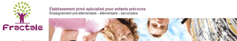 Ecole Fractale à Chauray (79)