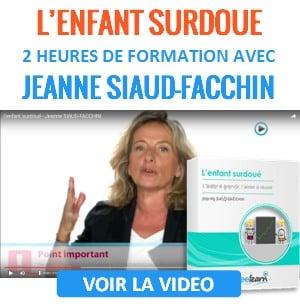 2 heures de formation vidéo avec Jeanne Siaud-Facchin