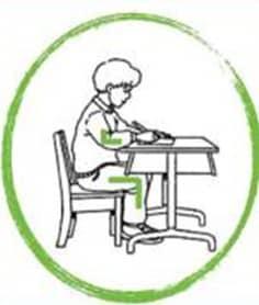 Quelle posture pour écrire ?
