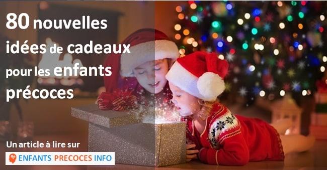 80 nouvelles idées cadeaux pour enfants précoces. Découvrez nos idées cadeaux intéressantes et ludiques pour les enfants précoces ou curieux.