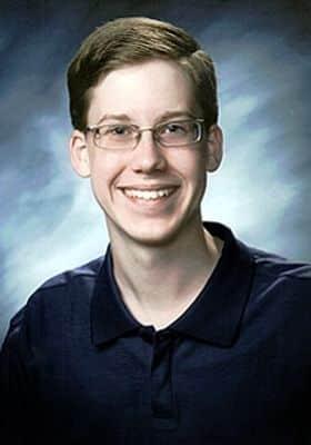 Austin Howard à 16 ans