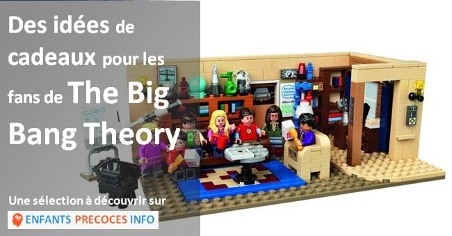 Découvrez notre sélection de cadeaux pour les petits et les grands fans de la série culte The big bang theory.