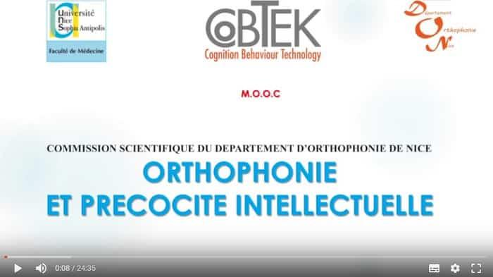 Orthophonie et précocité intellectuelle