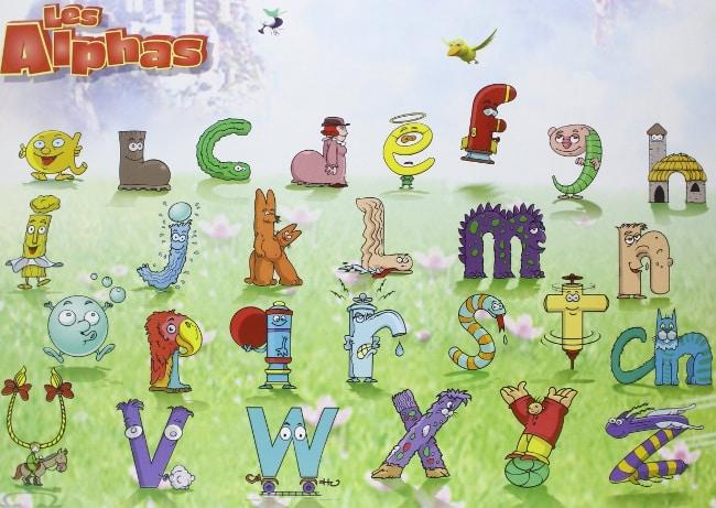 Les Alphas, un outil ludique pour aider les petits précoces qui veulent apprendre à lire