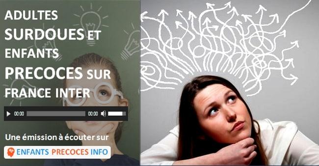 Adultes surdoués et enfants précoces sur France Inter