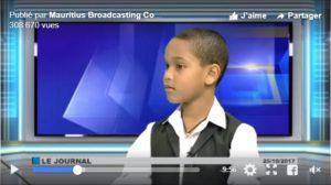 Un jeune surdoué mauricien