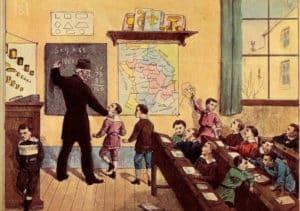 L'école d'antan