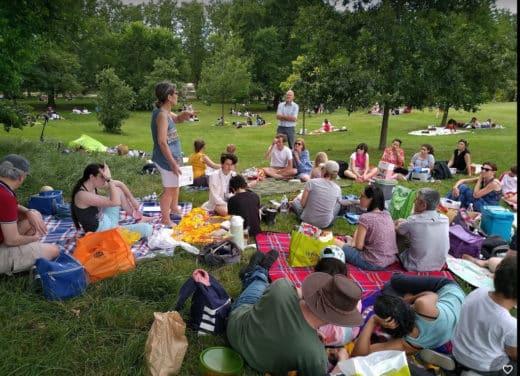 Rencontre EPI au parc de Sceaux