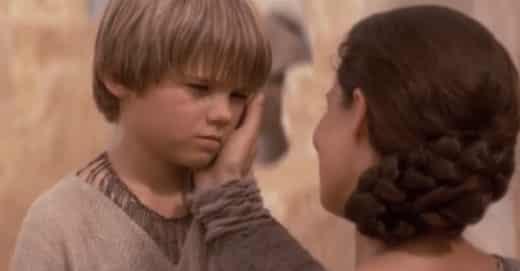 Anakin Skywalker enfant précoce provocateur